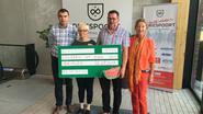 Danny Carrette wandelt 3.375 euro bijeen voor Children At Risk