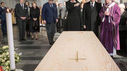 Bijna hele koninklijke familie neemt afscheid van Danneels