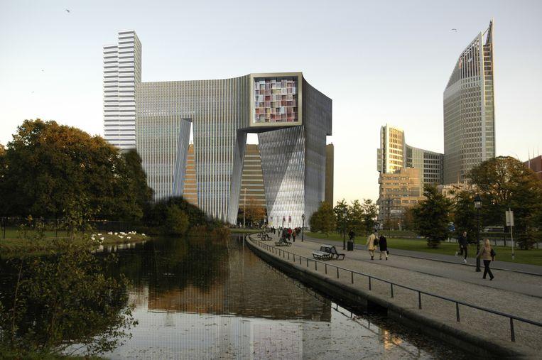 Ontwerp Koningin Julianaplein (beter bekend als de M), OMA Office for Metropolitan Architecture, 2008-2010. Beeld OMA