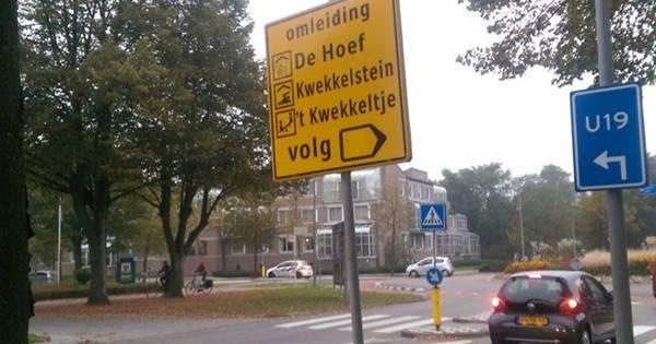 Verkeersbord laat rosmalen twijfelen heet zwembad for Zwembad s hertogenbosch