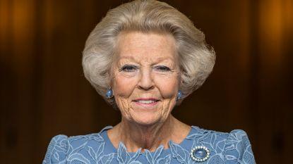 Prinses Beatrix poseert voor tachtigste verjaardag