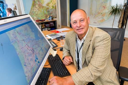 """Manager Sandro Broeke van het Bewoners Aanspreekpunt Schiphol (BAS) over de groeiende stroom klachten vanuit het oosten: ,,Luchtvaart is elke dag in het nieuws, de discussie wordt feller, actiegroepen op de Veluwe hebben zorgen over hun leefomgeving; het is een proteststem."""""""