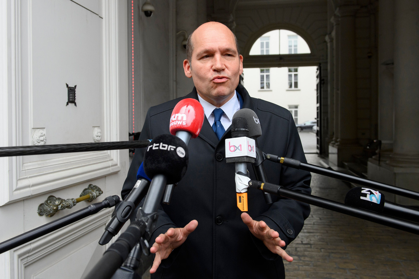 Brussels burgemeester Philippe Close (PS).