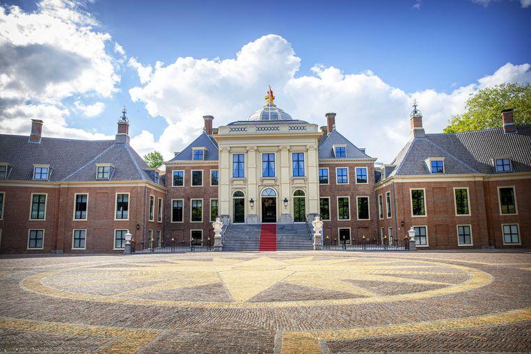 Paleis Huis ten Bosch, de woning van koning Willem-Alexander en zijn gezin.  Beeld null