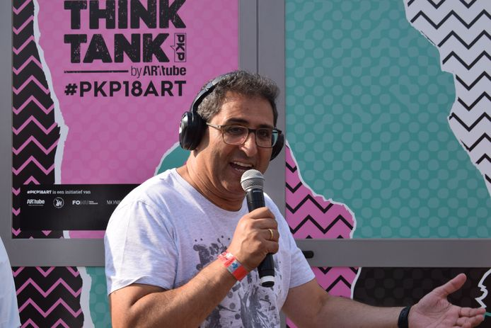 Chokri Mahassine , de organisator van Pukkelpop