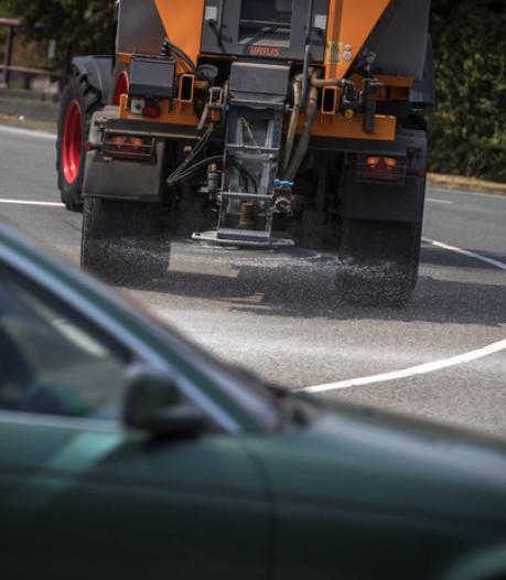 Strooiwagens in grote delen van land weg op vanwege voorspelde gladheid