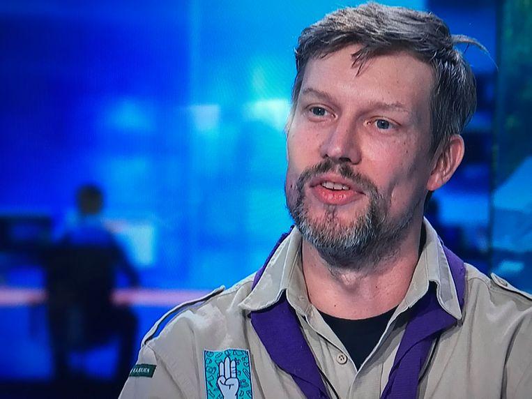 Wim Verschueren van Scouts en Gidsen Vlaanderen