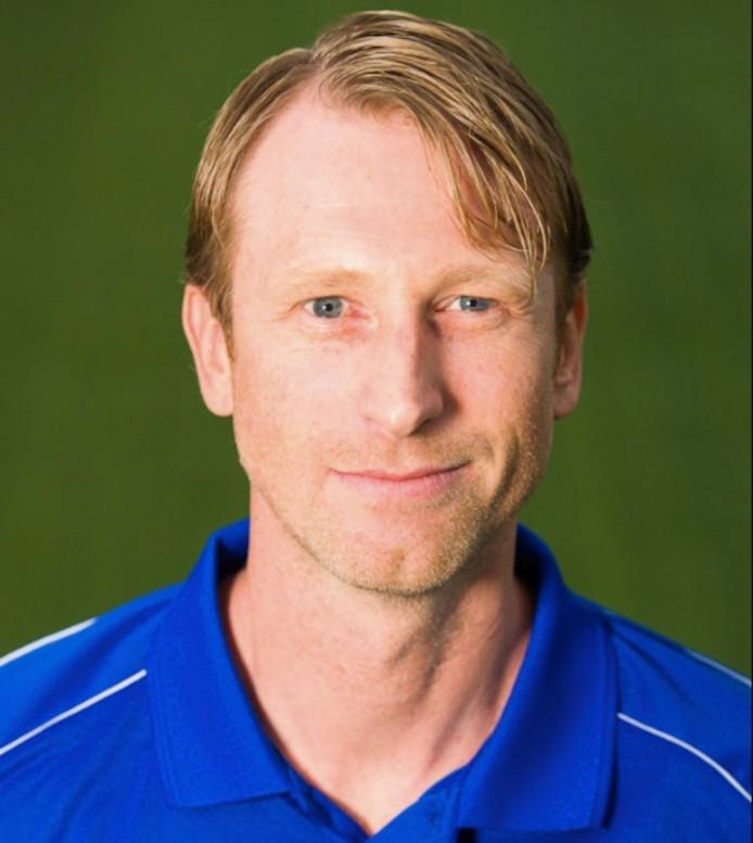 Arno Hoekstra, vertrekkend trainer van VV Berkum.
