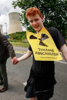 Massale demonstratie tegen Belgische kerncentrale
