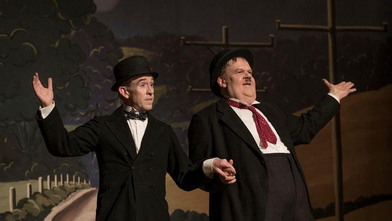 Stan & Ollie Beeld -