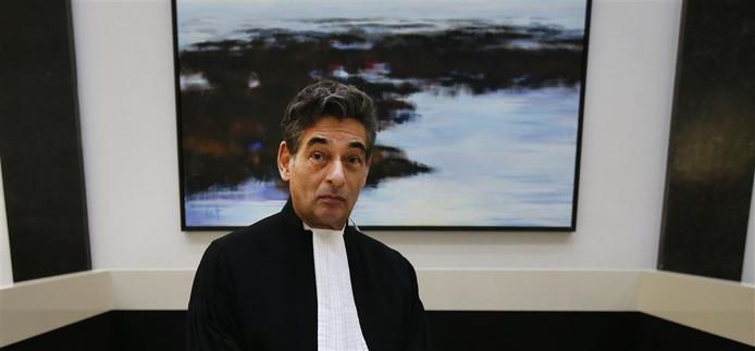 Advocaat Gerard Spong vertegenwoordigt Johan van Laarhoven.