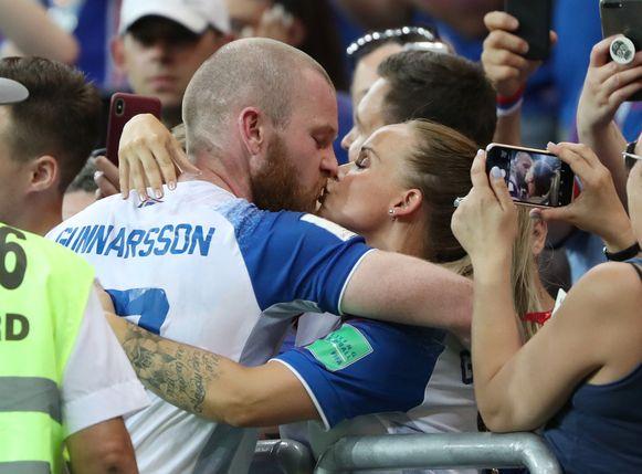 ...maar Gunnarsson toonde dat er meer is in het leven dan enkel voetbal.