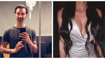 SHOWBITS. Sean Dhondt hangt aan het infuus en Kim Kardashian schittert in glitterjurk