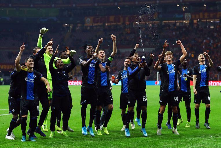 Club Brugge mag zich de Belgische kampioen van 2019-2020 noemen. Beeld EPA