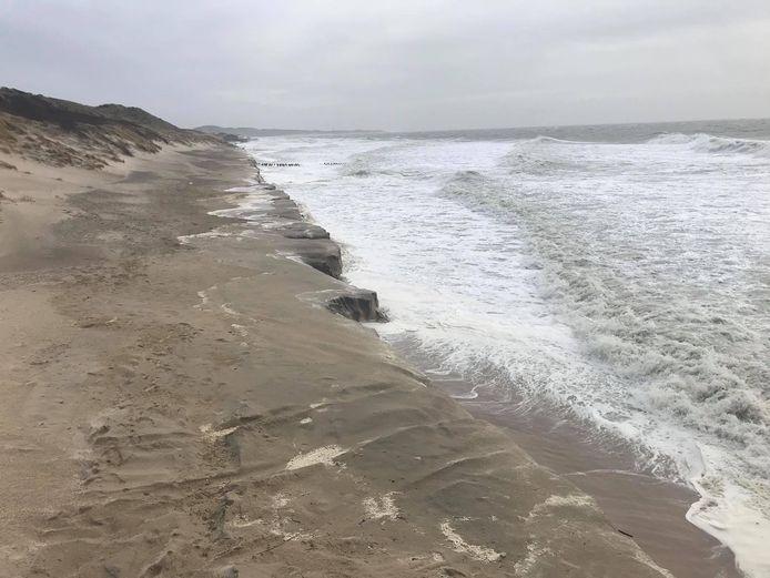 Het strand tussen Westkapelle en Zoutelande