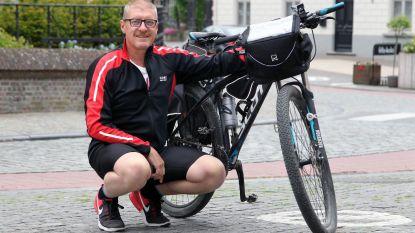 Stefaan Lehoucq fietst en loopt voor Humival
