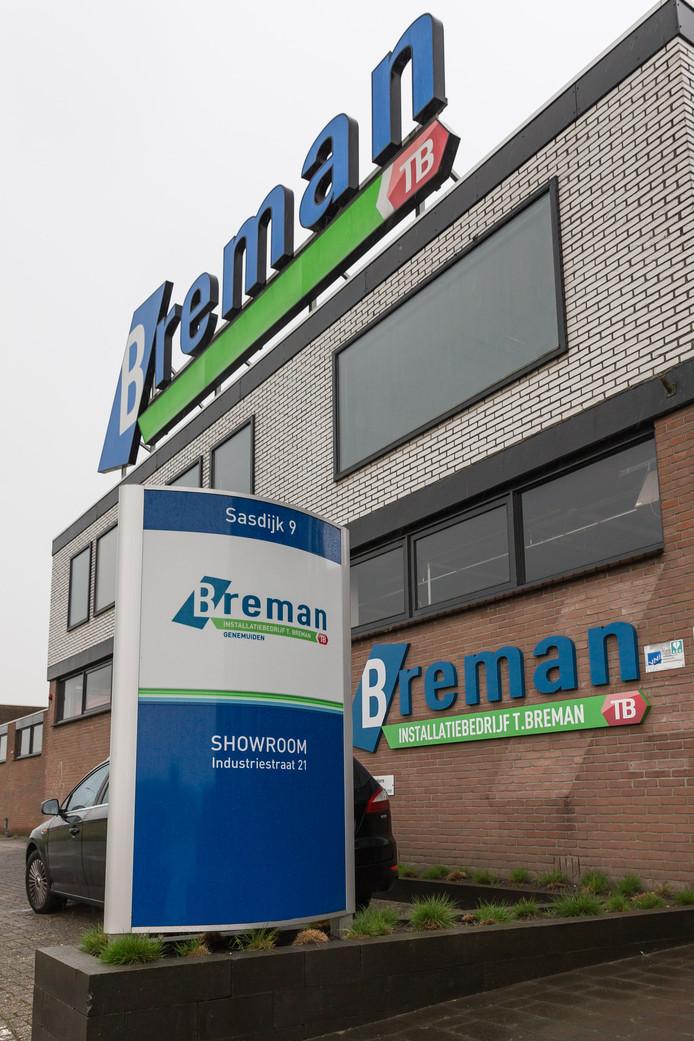 Pand van Breman TB in Genemuiden.