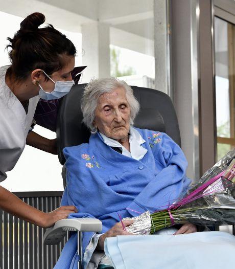 Julia, guérie du Covid-19 quelques jours après avoir fêté ses 100 ans, a quitté le CHBA de Seraing