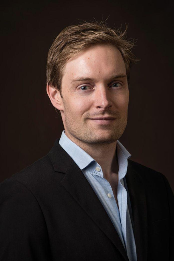 Journalist Stefan Vermeulen.