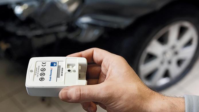Een Event Data Recorder biedt waardevolle informatie na een ongeluk.