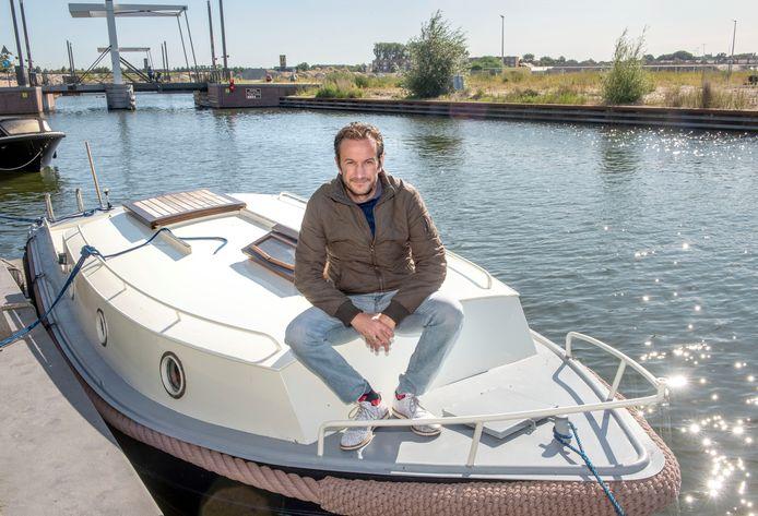 Gerwin Tromp is de drijvende kracht achter de Drijf In, die 25 september gehouden wordt in Harderwijk.