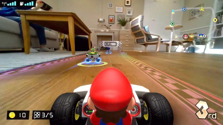Mario Kart Live: Home Circuit. Beeld Nintendo