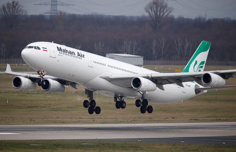 De 4 wekelijkse vluchten van Teheran naar Duitsland worden geschrapt.