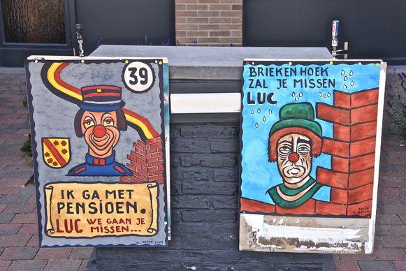 De twee schilderijen hingen in de Westmolenstraat