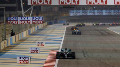 GP Formule 1 van Bahrein wordt achter gesloten deuren gereden vanwege coronavirus