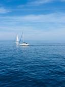 La mer à perte de vue, Argelès-sur-Mer