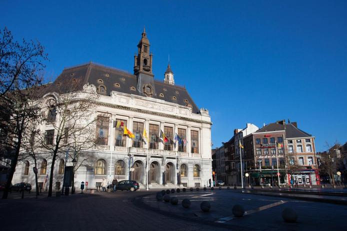 L'Hôtel de ville de Charleroi (illustration).