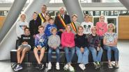 Loïc Devos haalde het van vier andere kandidaat-kinderburgemeesters