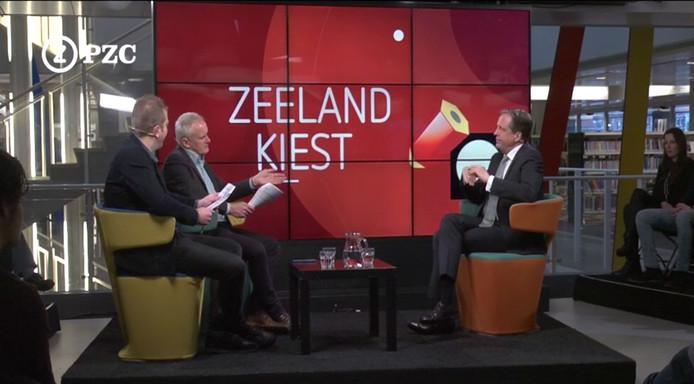 Alexander Pechtold bij Zeeland Kiest.