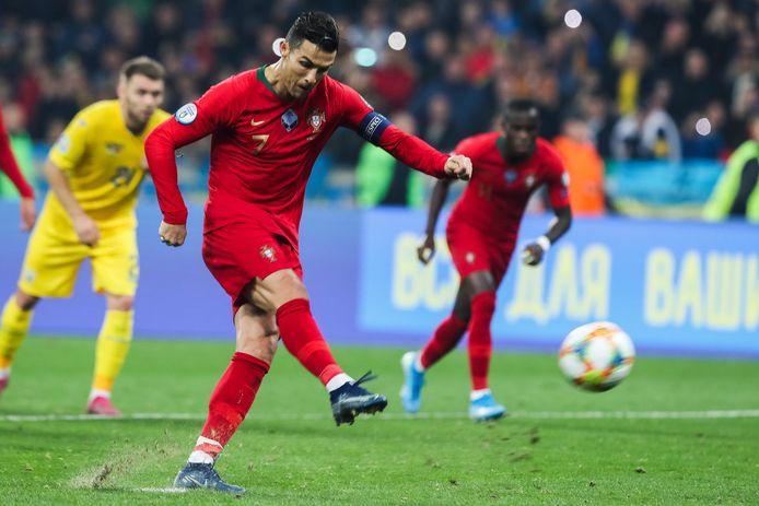 Ondanks een benutte strafschop van Cristiano Ronald verloor Portugal het vorige EK-kwalificatieduel met Oekraïne. De foutmarge is daardoor klein voor de Europees kampioen.