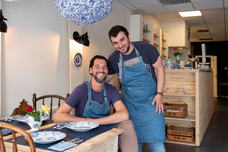 Wouter Joossens en Ali Dbah vormen een ijzersterk team in De Partage.