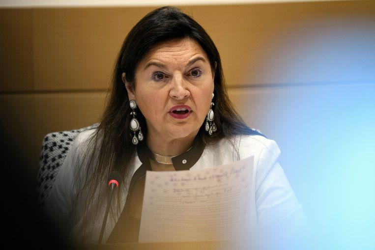 Minister van Energie Marie Christine Marghem.