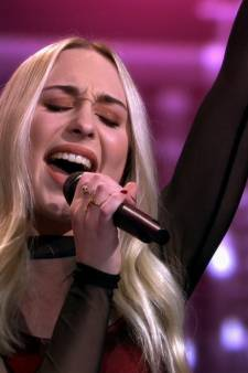 Daphne uit Havelte blaast met uithaal jury van The Voice omver, maar wint finale niet