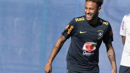 IN BEELD: de lange weg van Neymar naar het WK