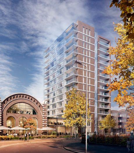 Nieuw ontwerp voor woontoren Walkwartier Oss: grotere appartementen, meer baksteen