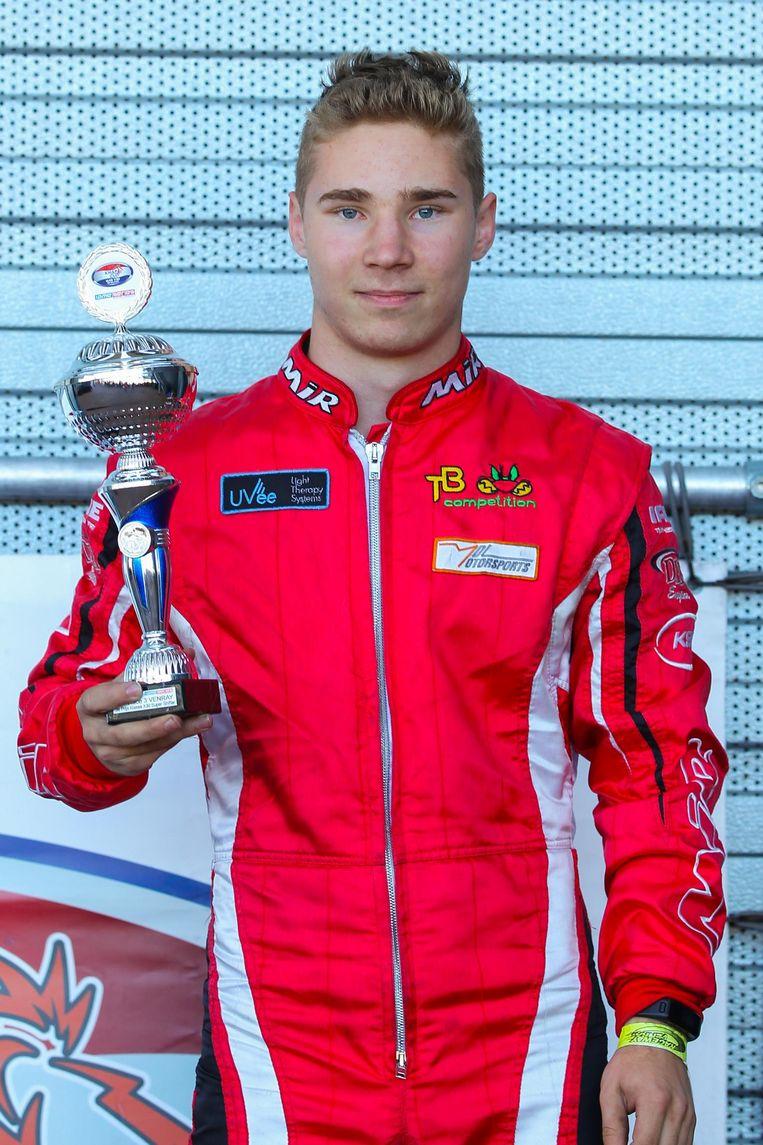 'Rookie' Milan De Laet maakt indruk met een podiumplaats in hety NK.