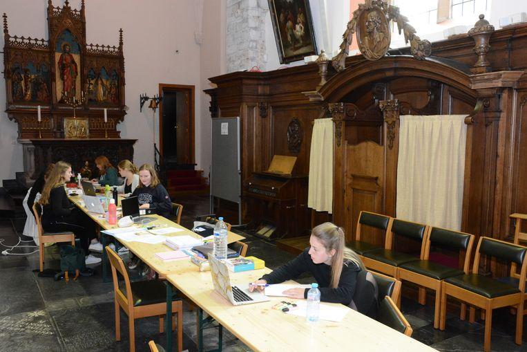 Het voorbije jaar werd de Sint-Petruskerk al ingezet als stille ruimte voor blokkende studenten.