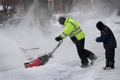 Sneeuwstorm geselt grote delen van de VS