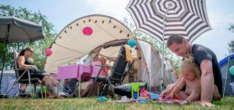 Prachtige zomer zorgt voor topdrukte op Twentse campings