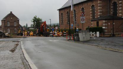 Wegenwerken N457 schuiven op richting Schorisse