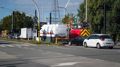 Aanschuiven op R4 in Wondelgem na ongeval