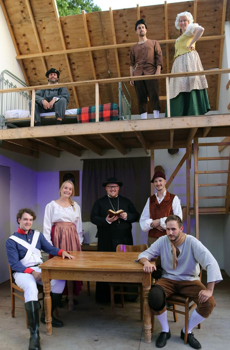 Een aantal van de acteurs.
