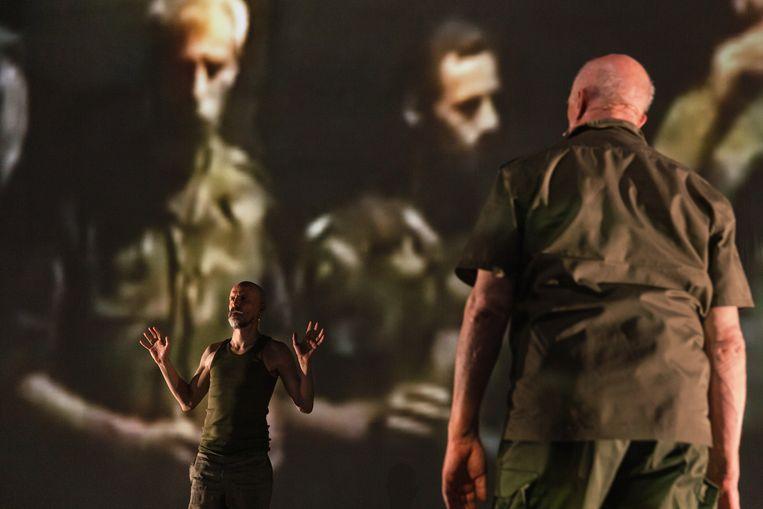 De opera 'De lamp' van Huba de Graaff. Beeld Bowie Verschuuren