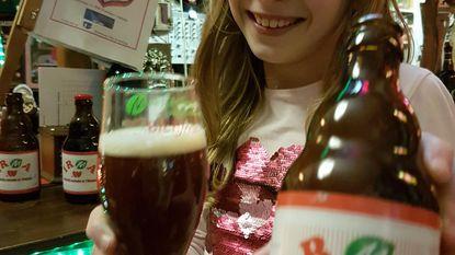 Irma en 'haar' valentijnsbier zijn 10 jaar