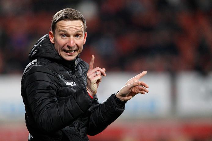 Trainer Pepijn Lijnders.