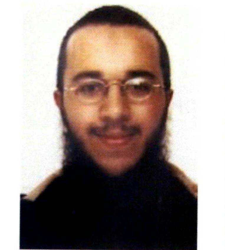Een foto van Farouk Ben Abbes uit zijn dossier in 2009.